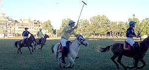 USPA teams plays in Imphal