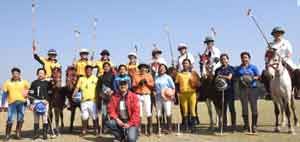Six women's polo teams - Australia